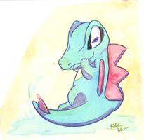 Totodile by The-EverLasting-Ash