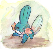 Mudkip by The-EverLasting-Ash