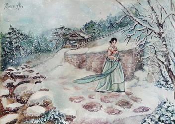 Korean winter by Reraartist