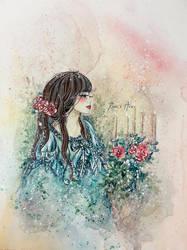 Romantic Girl by Reraartist