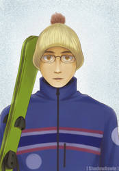 Hetalia APH : Thailand in 2018 Winter Olympics by youngthong-art