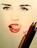 Miley Cyrus by SofiaAliens
