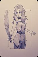 Adventurer Abby by BOOMBZA