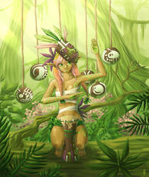 Jungle Drum by Dyru