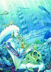 Mikau's song of the ocean by Dyru