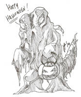 Give Hedorah some candies by YogurPodrido