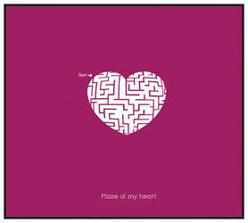 : : Maze Of My Heart : : by A-STYLE