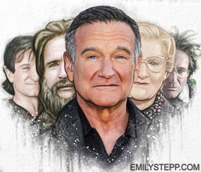 Robin Williams Tribute by EmilyStepp
