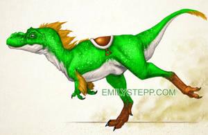 Yoshisaurus by EmilyStepp