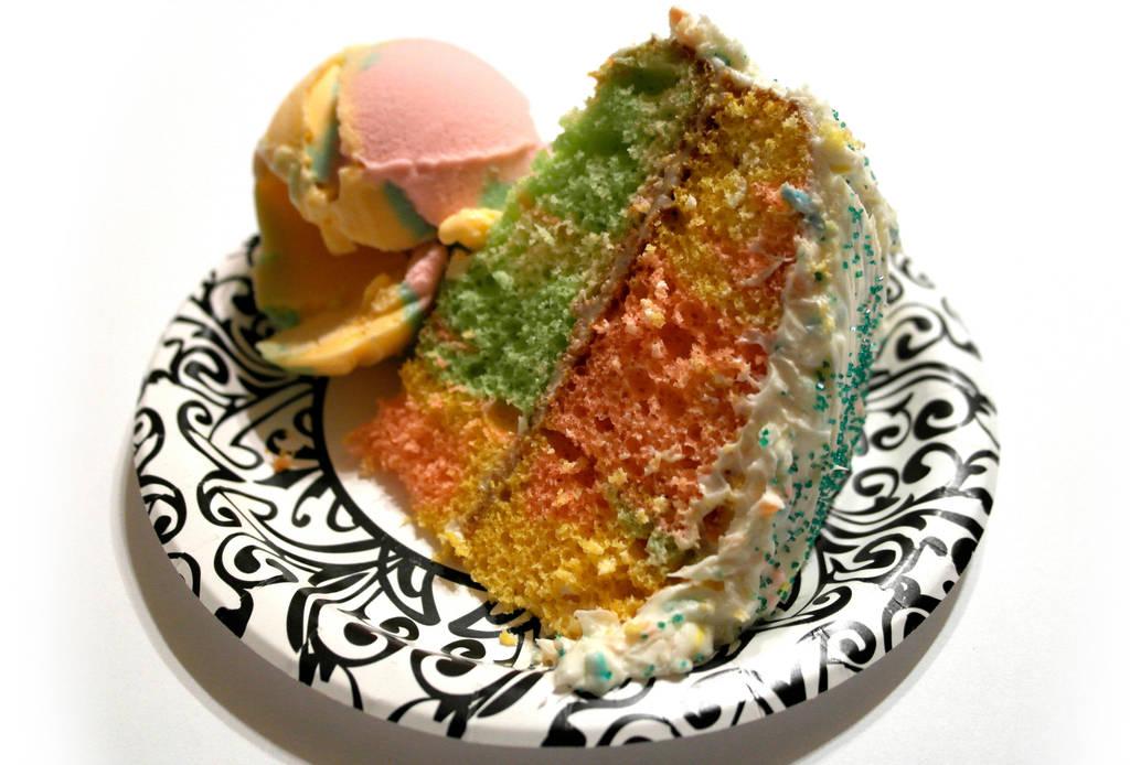 rainbow sherbet cake recipe