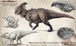 Hyperendocrin Parasaurolophus Fan Concept by EmilyStepp