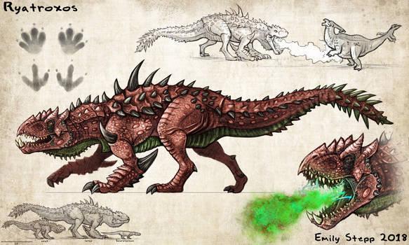 Ryatroxos Monster Hunter Concept Commission by EmilyStepp
