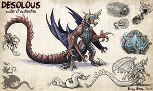 Desolous Kaiju Concept by EmilyStepp