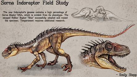 Gen 2 Indoraptor Concept by EmilyStepp