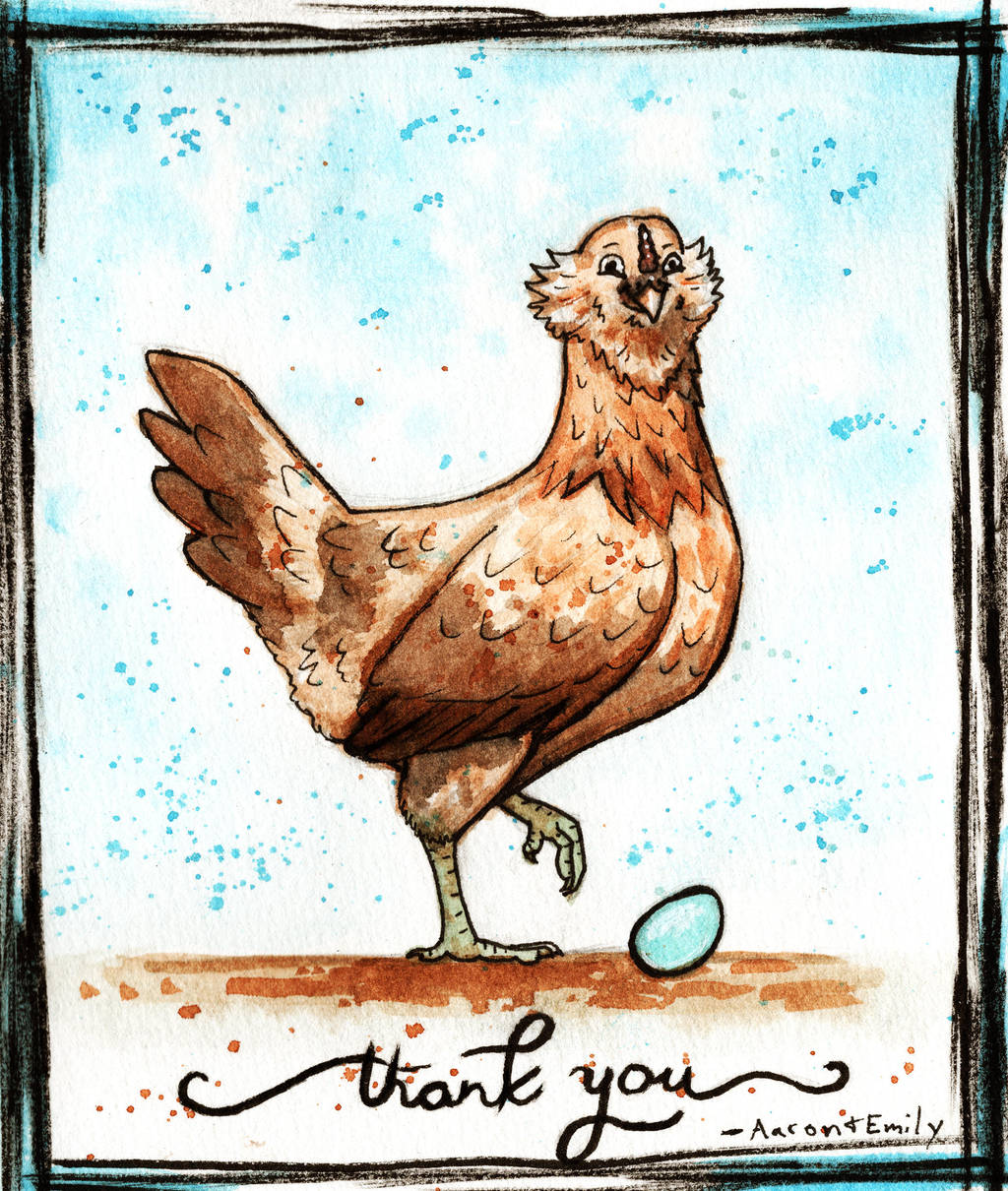 Thank You Card by EmilyStepp