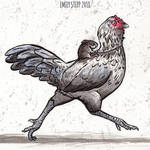 Inktober 2018 Day 5 Chicken by EmilyStepp