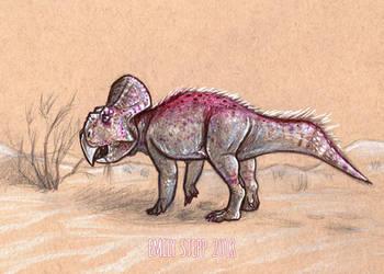 DrawDinovember Day 12 Protoceratops by EmilyStepp