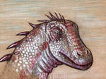 DrawDinovember Day 18 Diplodocus by EmilyStepp