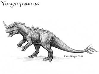 Yongarysaurus by EmilyStepp