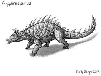 Anguirusaurus by EmilyStepp