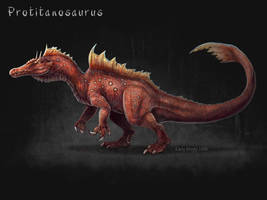 Protitanosaurus by EmilyStepp