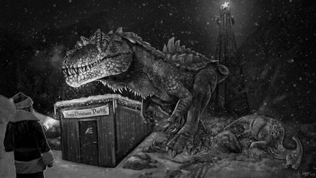 Scary Christmas - The Isle Fan Art by EmilyStepp