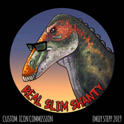 Shantungosaurus Icon by EmilyStepp