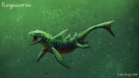 Reigosaurus by EmilyStepp