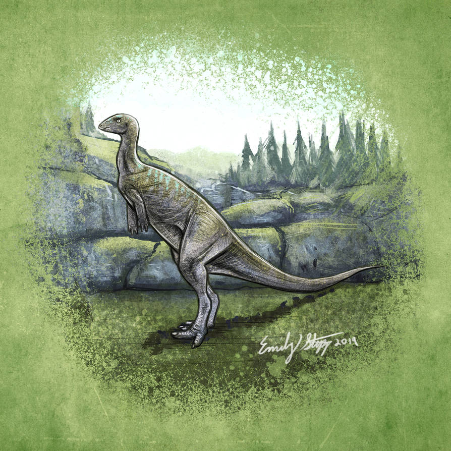 The Isle Dryosaurus Sketch by EmilyStepp