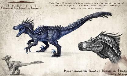 Hyperendocrin Raptor Character by EmilyStepp