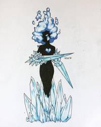 Ice Element by o0LadyCrow0o