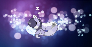 Ghostly Sleeping~ Art Trade by MadWhovianWithABox