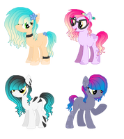 Gradient Pone Adopts by MadWhovianWithABox