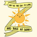 Twice as Sunny by MadWhovianWithABox