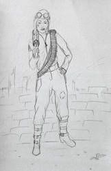 Sergeant Lotus by Feagaer