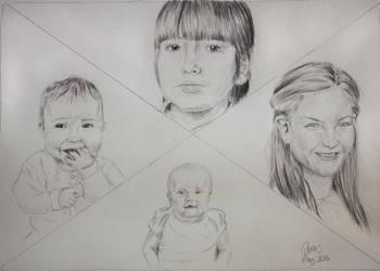 Family Portrait by Feagaer