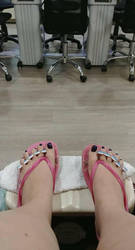 Pedicure by Girl-With-Cat-Claws