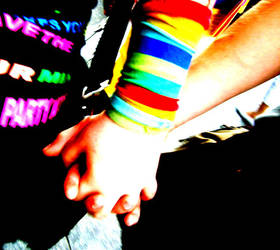 Rainbow Love by Psychokugel