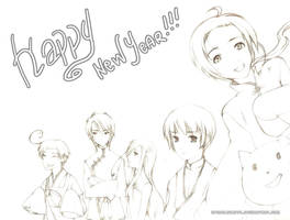 Happy New Year by spinelquartz