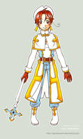 Tales of Hetalia: Cleric by spinelquartz