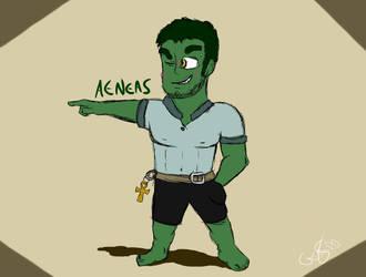 Aeneas by DanteDanterius