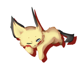 Sleepy Pichu by catmasterz
