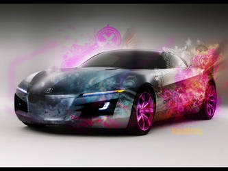 Abstract Car by K4m3l0r7