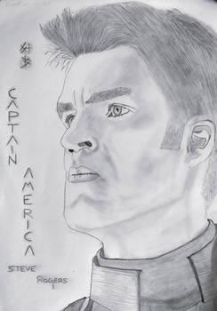 Captain America by ganeshwesker