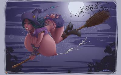 Magic Gone Wrong by BoobDolLz