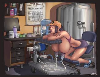 Hot Cream Cafe Milk Room by BoobDolLz