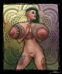 Tatoo Girl II by BoobDolLz