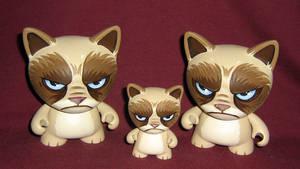 Grumpy Cat Trikky Trio by ReverendBonobo