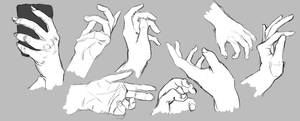 Hand Study by Magistellus