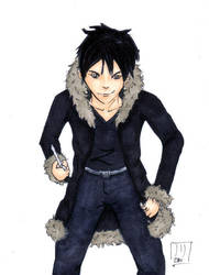 DRRR :: Izaya by rhythmic-high